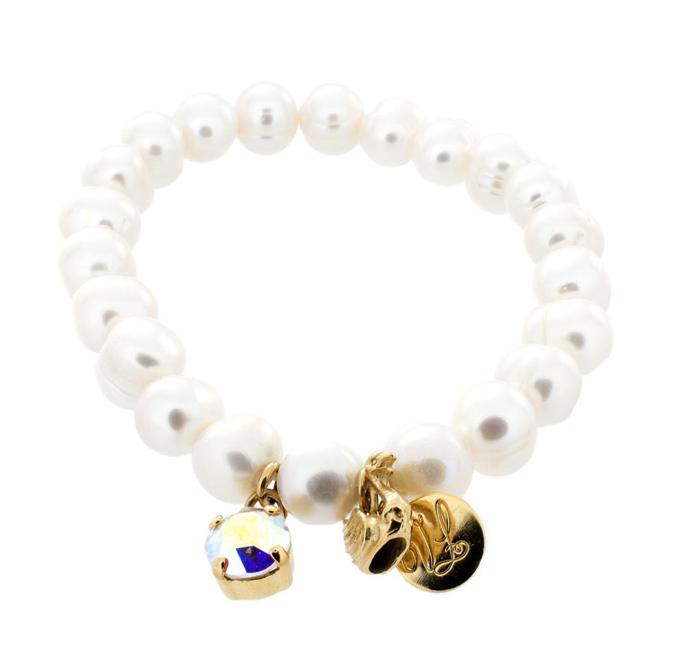 Stretch Pearl Bracelet
