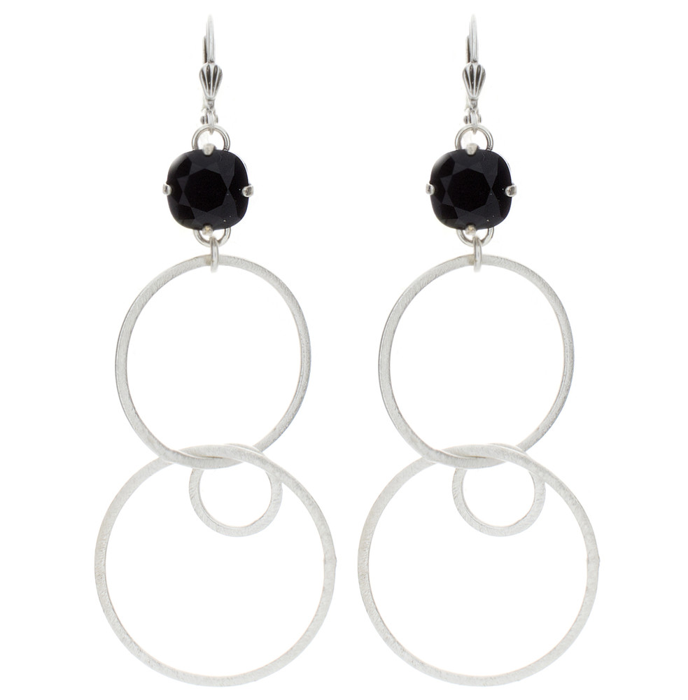 Single 3 Circle - 10mm Earrings