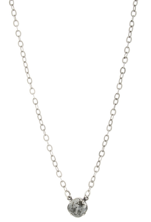 Children's 10mm Single Drop Necklace Silver