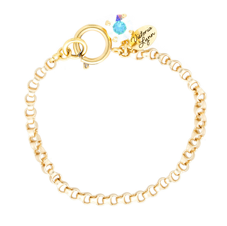 Bracelet 8mm Rollo Gold