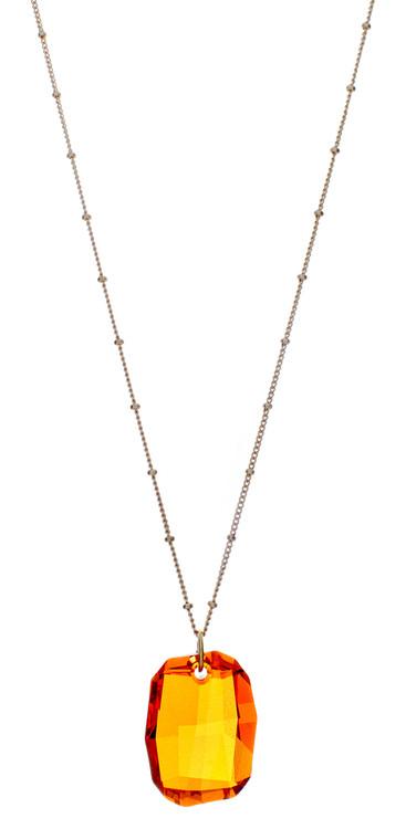 Graphic Drop Necklace