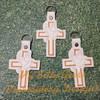 Key Chain Cross Dove