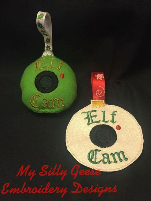Elf Cam Ornament Set