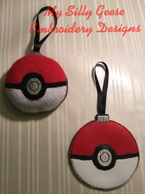 Game Ball Ornament Set