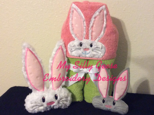 5x7 Bunny Set - Peeker 5x7, Stuffed 5x7 & 6x10