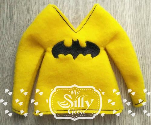5x7 Elf Sweater Bat Hero