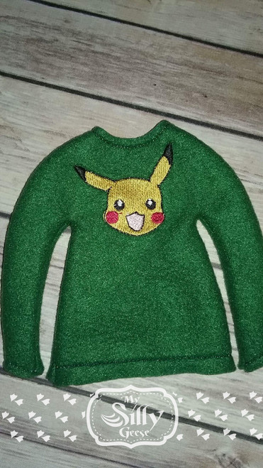 5x7 Elf Sweater Rounded Yellow Gamer