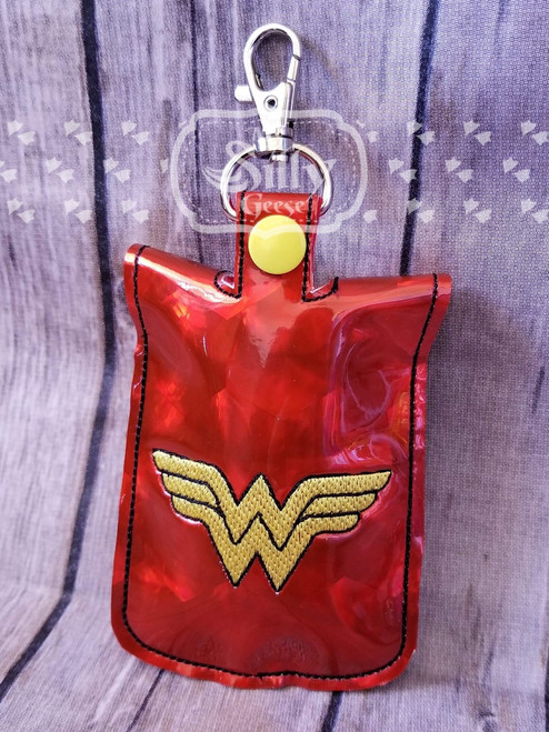 5x7 Sanitizer Case Wonder Hero