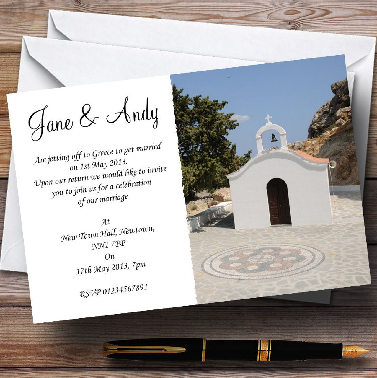 St Pauls Lindos Rhodes Jetting Off Abroad Personalised Wedding ...
