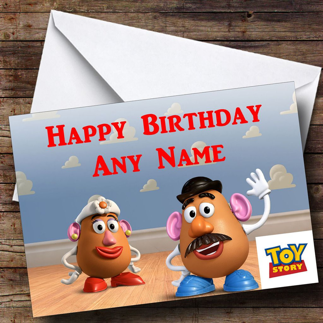 Toy Story Potato Head Personalised Birthday Card The Card Zoo