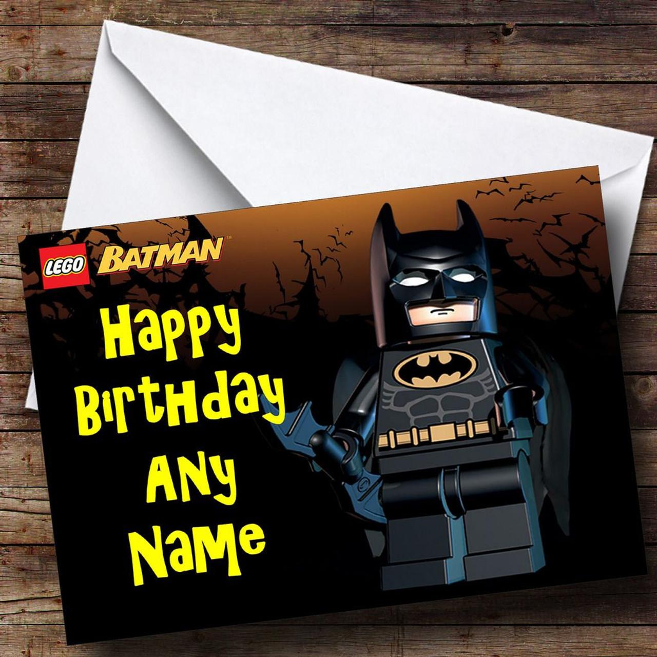 Lego batman personalised birthday card the card zoo lego batman personalised birthday card bookmarktalkfo Choice Image