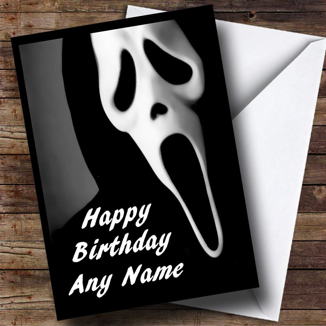 Personalised Cards - Birthday Cards - Horror, Scary & Horrid Cards ...