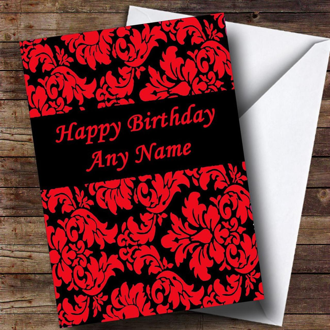 Black Birthday Cards Vatozozdevelopment