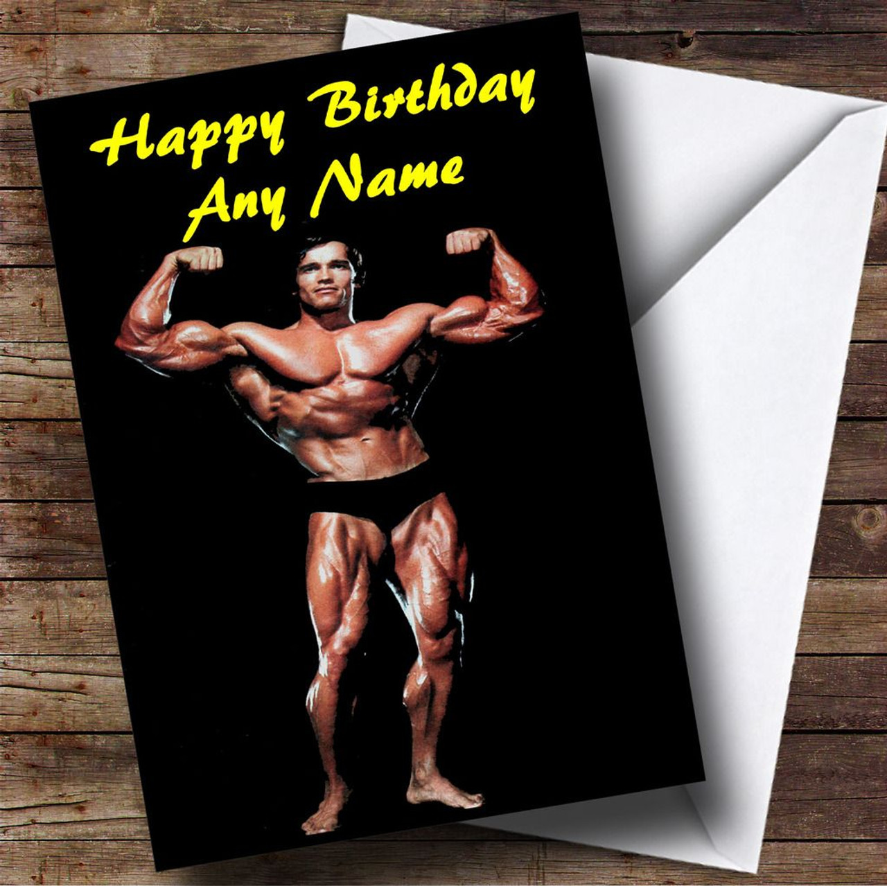 Arnold schwarzenegger muscles personalised birthday card the card zoo arnold schwarzenegger muscles personalised birthday card bookmarktalkfo Image collections