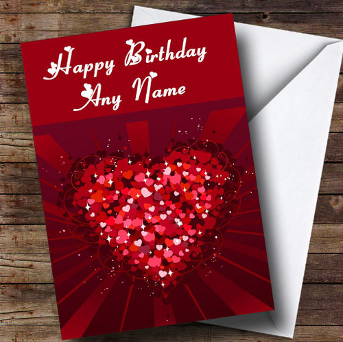 Personalised Cards Birthday Cards Romantic Birthday Cards Page