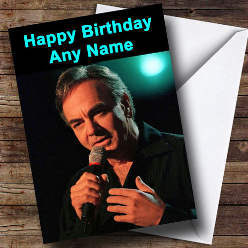 Neil Diamond Personalised Birthday Card