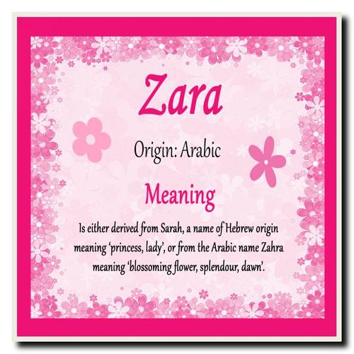Zara Meaning