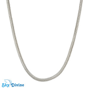 Sterling Genuine Silver Silver chain SDASC01b SkyDivine Jewellery