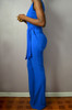 Sweetheart Flare Jumpsuit (Side)