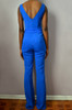 Sweetheart Flare Jumpsuit (Back)