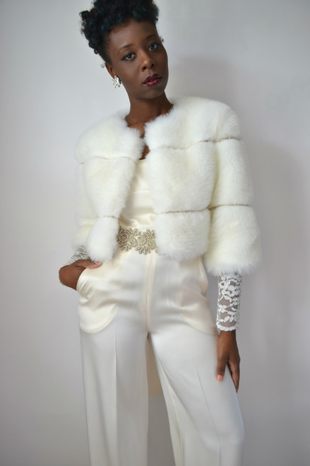 Eva Bridal Fur Coat