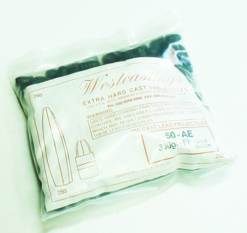 Westcastings .50-AE 330gr FP