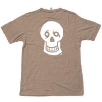 NTYD Left/Skull Back Tee (olive heather)
