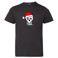 Santa Skull Tee (black)