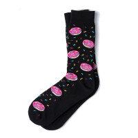 Donut Heaven Socks (black)