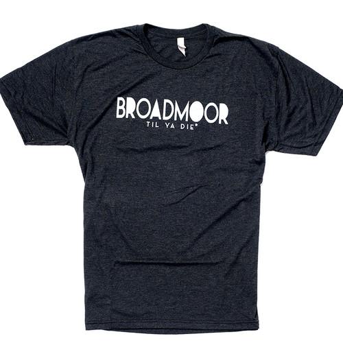 Broadmoor Til Ya Die Tee (black heather)