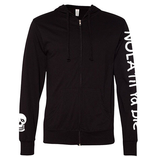 Lightweight NTYD Zip Hoodie (Black)