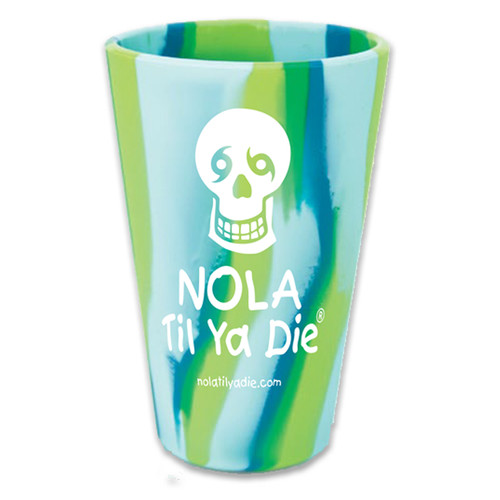 *NTYD Logo Pint Glass (Sea Swirl)