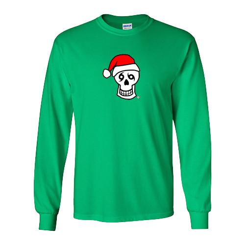 Santa Skull Long Sleeve (green)