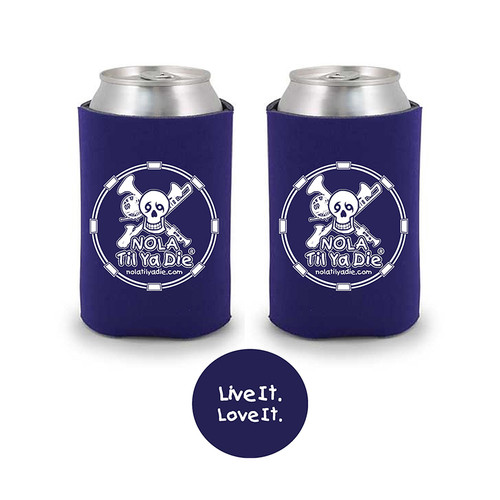 Music Live It Love It Koozie (purple)