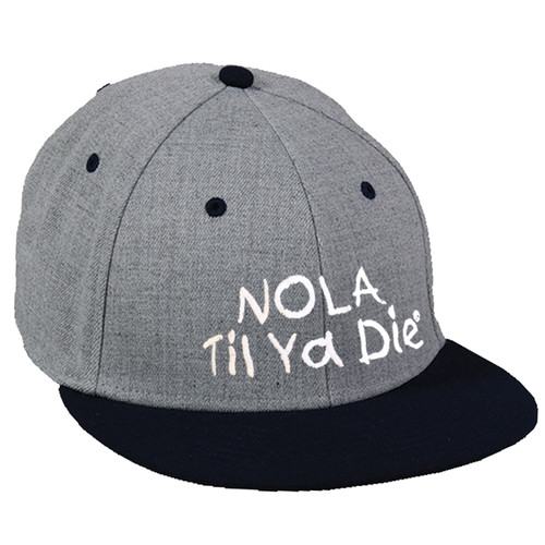 NTYD Fitted Hat (grey/black)