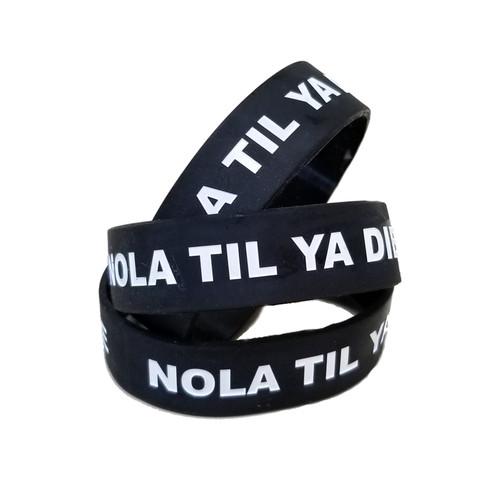 NTYD Silicone Wristband (black)
