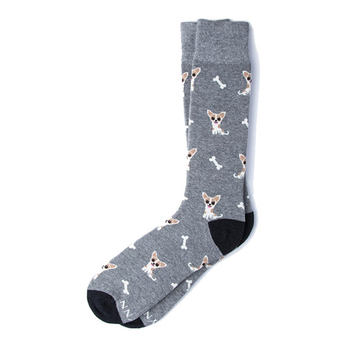 Bon Appetit Socks (grey)