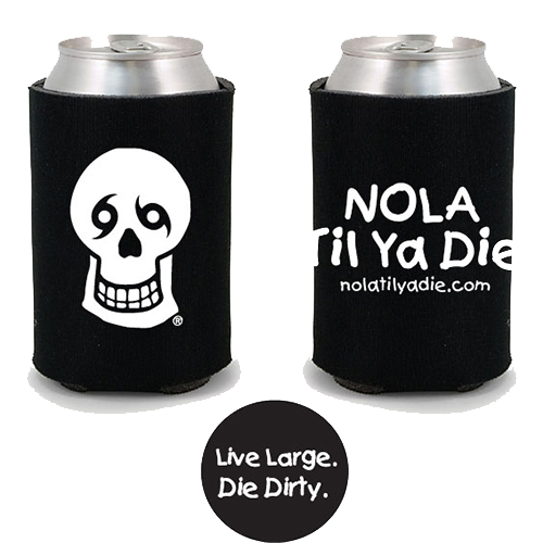 Logo Live It Love It Koozie (black)