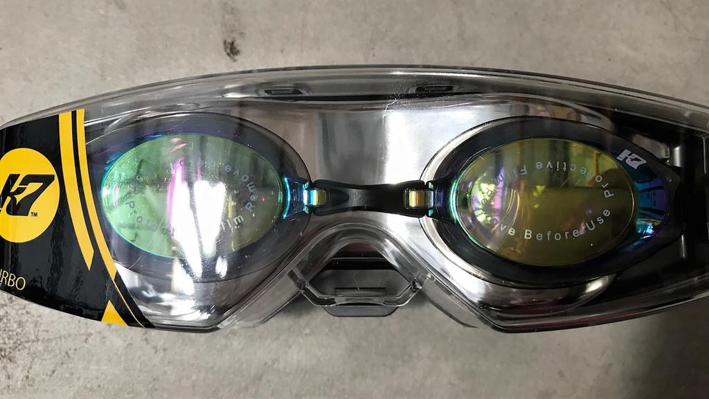 KAP7 TURBO UV Mirrored Racing Goggle