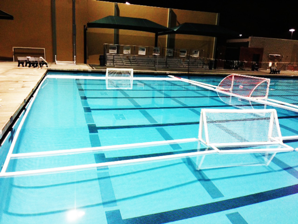 Junior Water Polo Course AirGoal Lane Lines 18M x 10M