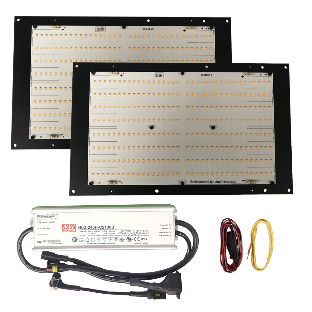 240 Watt Quantum Board Grow Light Kit