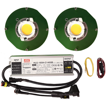 100 Watt Cree CXB3590 (2) COB Grow Light Kit