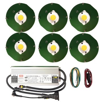 300 Watt Citizen CLU048 (6) COB Grow Light Kit