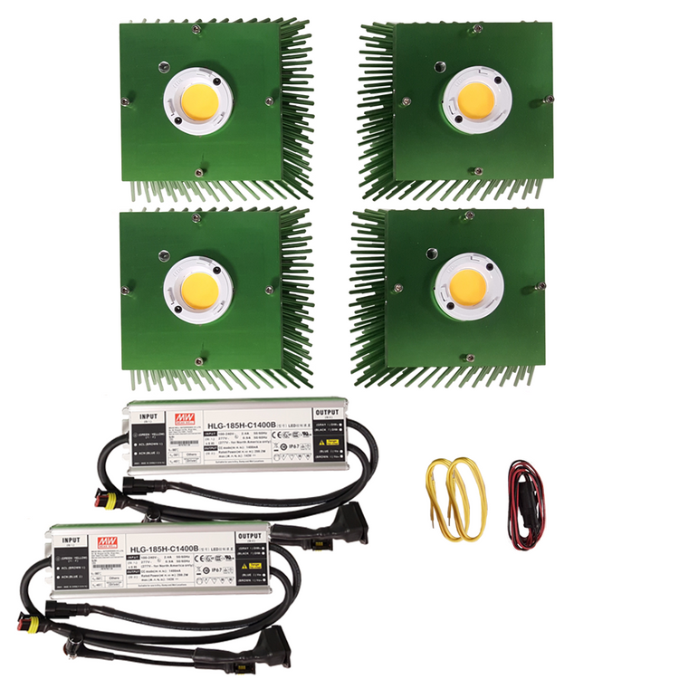 400 Watt Vero29 V7 (4) COB Grow Light Kit