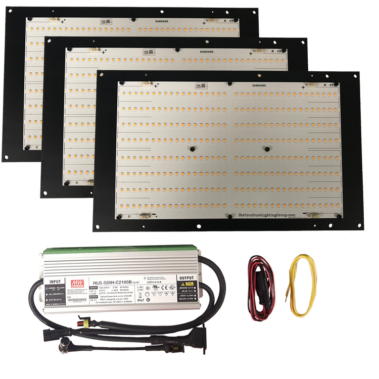 320 Watt Quantum Board Grow Light Kit