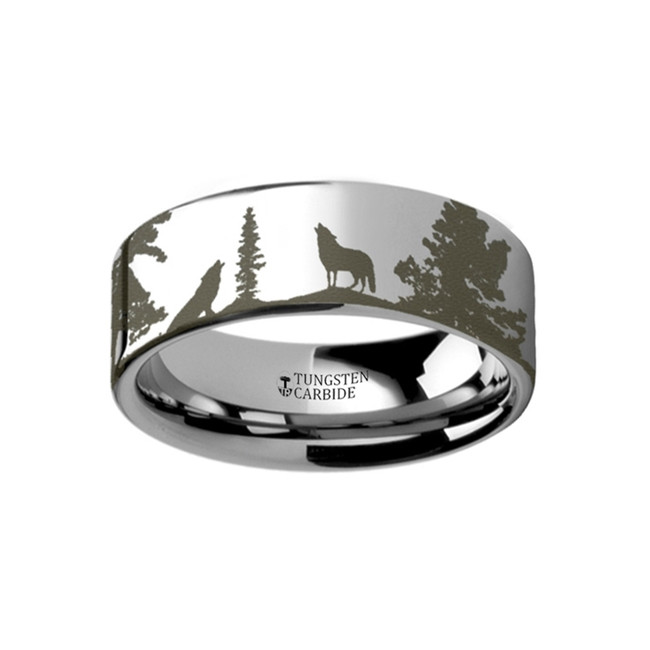 rings jewelers leaves themiste camo realistic vansweden band tungsten animal green from wedding tree carbide with