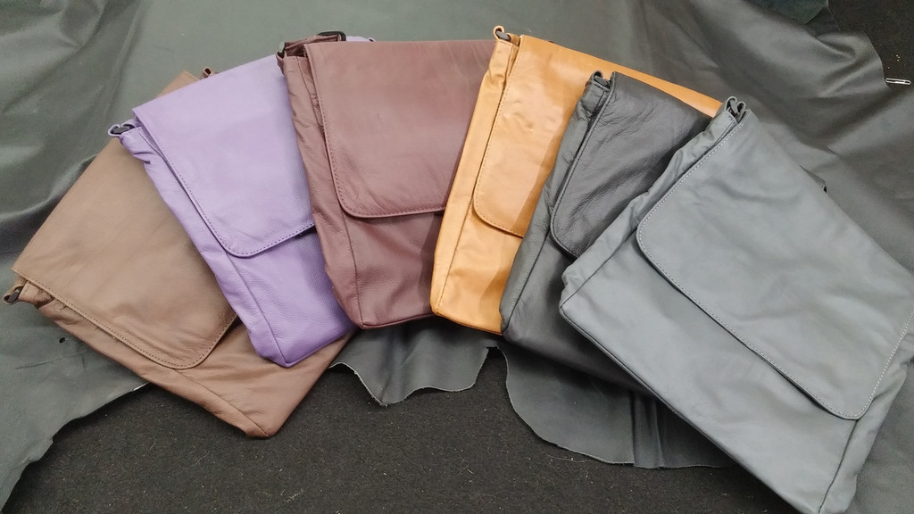 Available Colors for Original Messenger Bag  Brown, Purple, Burgundy, Cognac, Black, Grey Until Gone