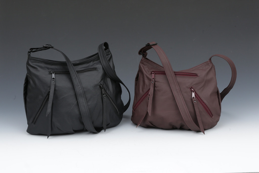Medium is black, Small is burgundy