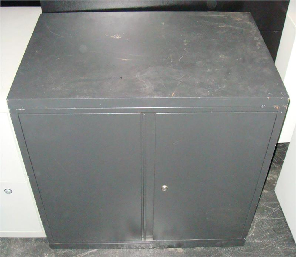 Used Two Shelf Storage Cabinet