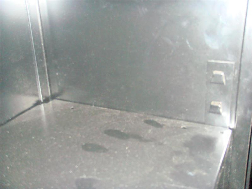 Used 4 Shelf Metal Bookcase